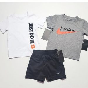 NWT Nike 2T Boy 3pc Summer outfit Firm price